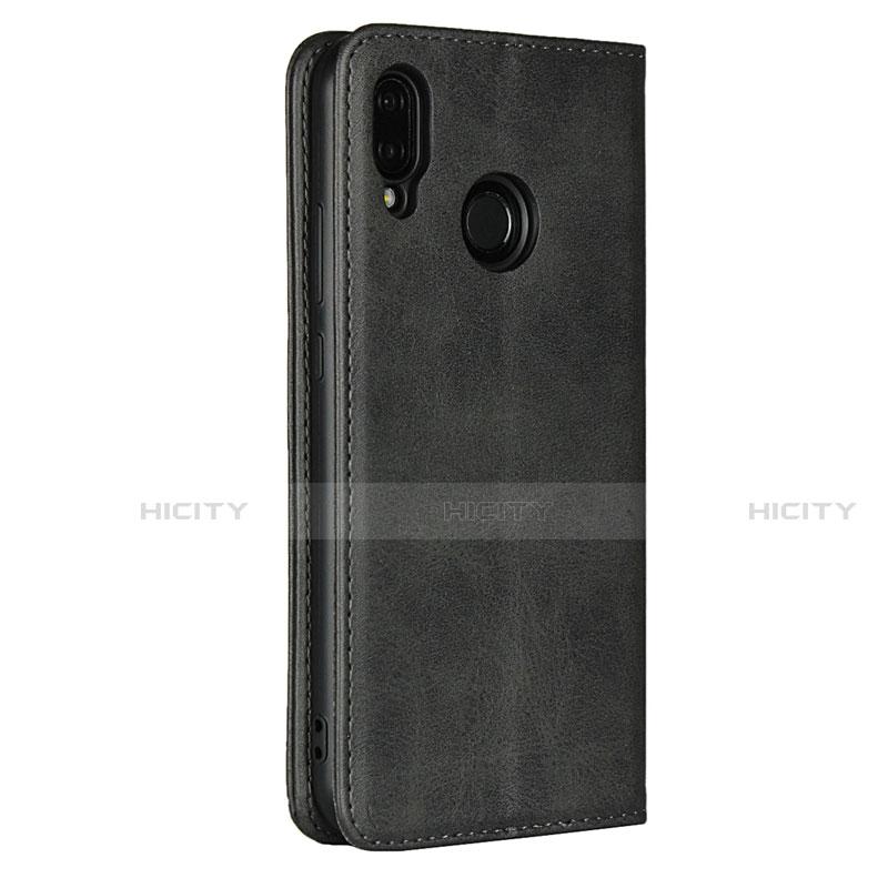 Huawei Nova 3e用手帳型 レザーケース スタンド カバー L06 ファーウェイ