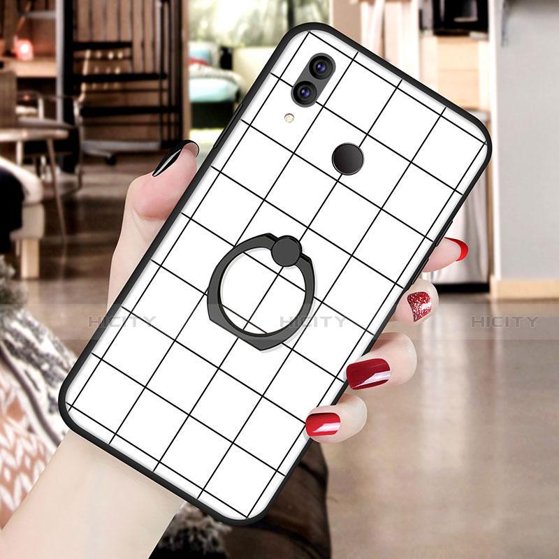 Huawei Nova 3e用シリコンケース ソフトタッチラバー バタフライ パターン カバー S02 ファーウェイ