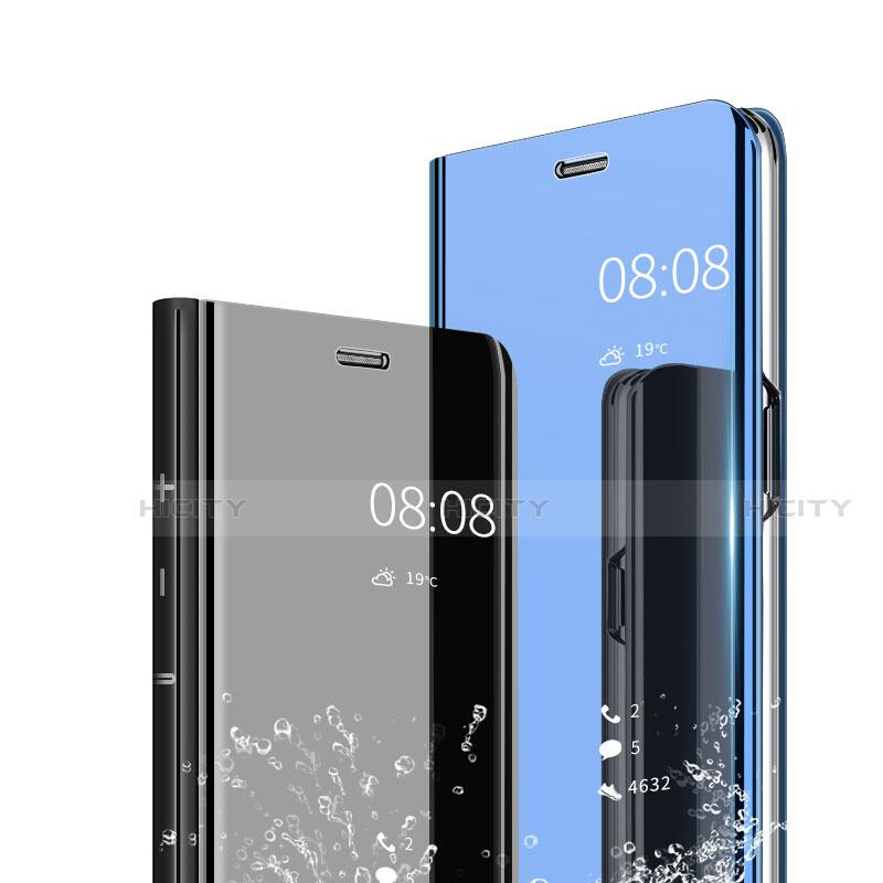 Huawei Nova 3e用手帳型 レザーケース スタンド 鏡面 カバー ファーウェイ