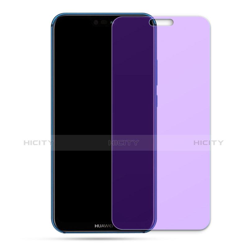 Huawei Nova 3e用アンチグレア ブルーライト 強化ガラス 液晶保護フィルム ファーウェイ クリア