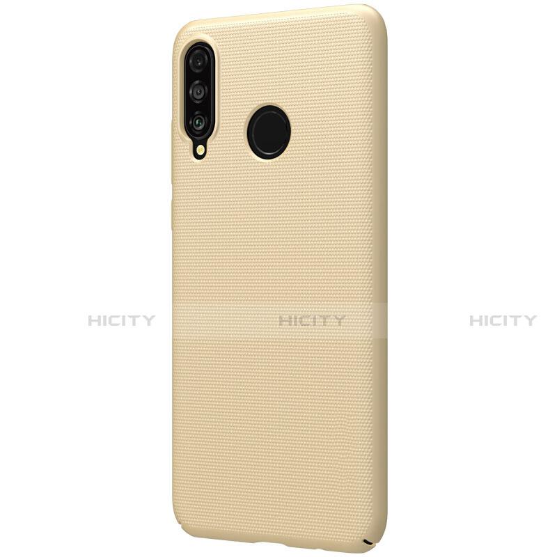 Huawei Nova 4e用ハードケース プラスチック 質感もマット M02 ファーウェイ ゴールド