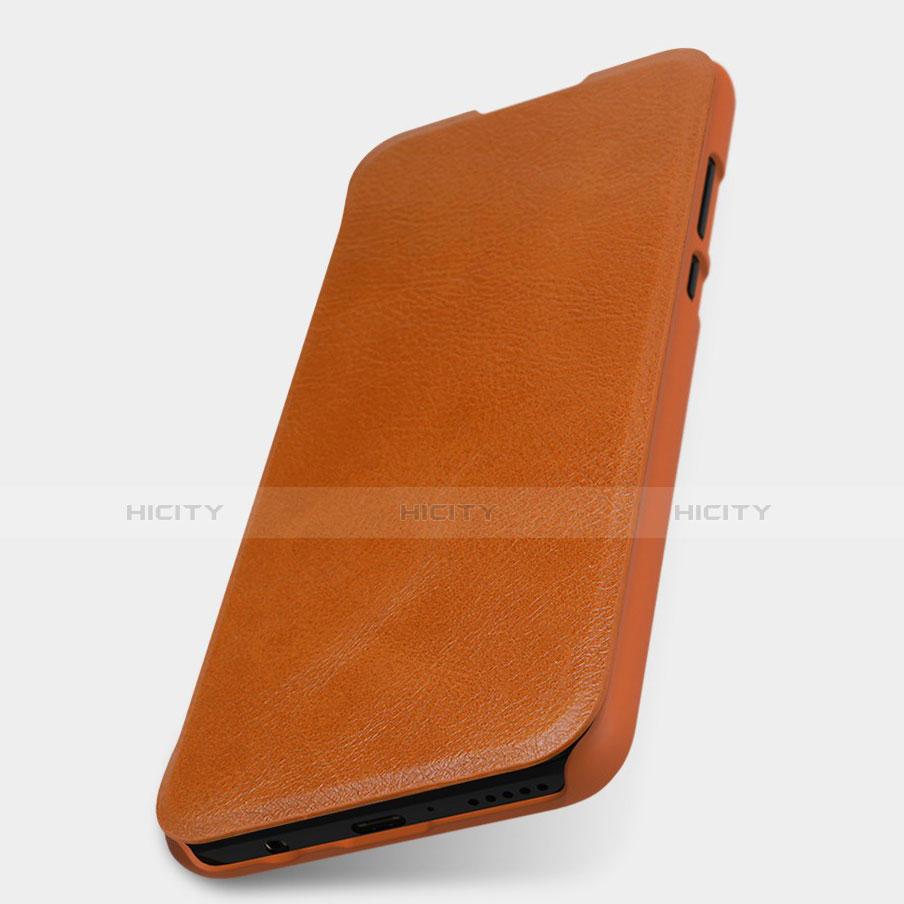 Huawei Nova 4e用手帳型 レザーケース スタンド カバー L03 ファーウェイ