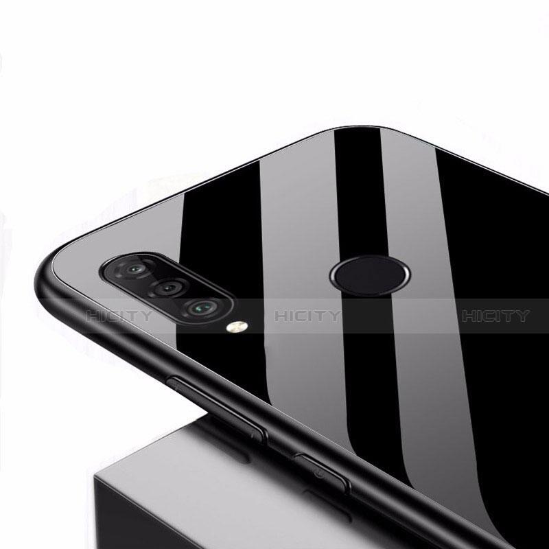 Huawei Nova 4e用ハイブリットバンパーケース プラスチック 鏡面 カバー ファーウェイ