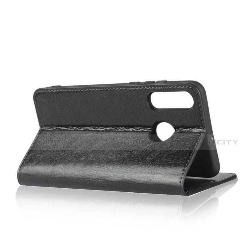 Huawei Nova 4e用手帳型 レザーケース スタンド カバー L05 ファーウェイ