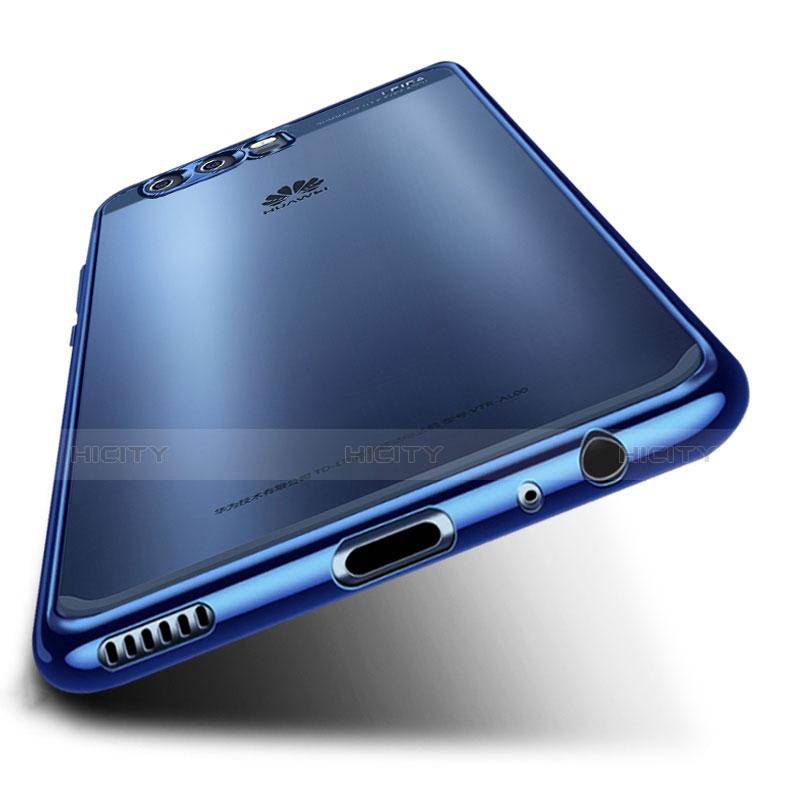 Huawei P10 Plus用極薄ソフトケース シリコンケース 耐衝撃 全面保護 クリア透明 H03 ファーウェイ