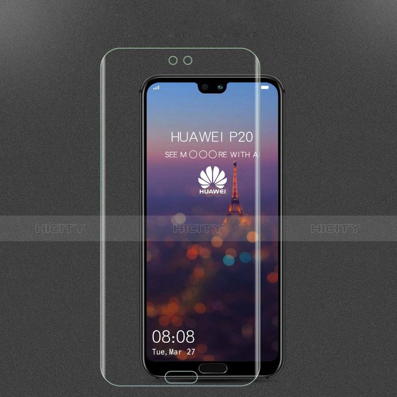 Huawei P20用強化ガラス 液晶保護フィルム ファーウェイ クリア