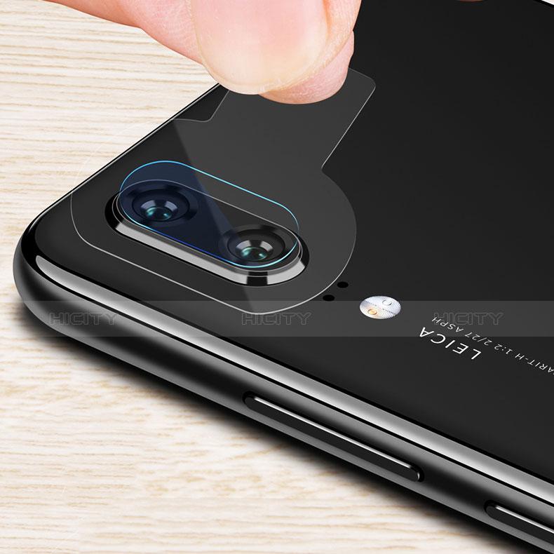 Huawei P20用強化ガラス カメラプロテクター カメラレンズ 保護ガラスフイルム ファーウェイ クリア