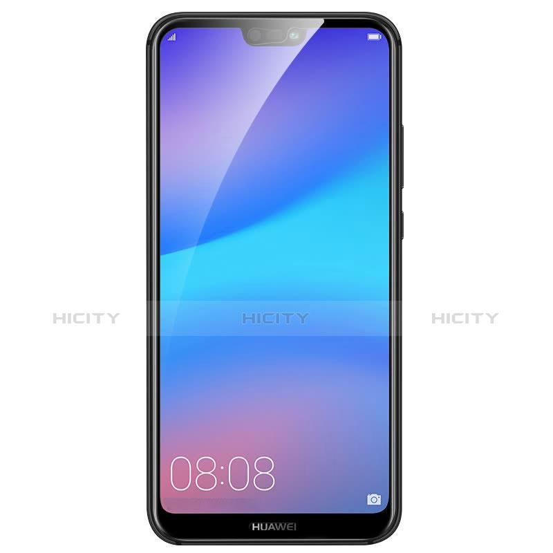Huawei P20 Lite用強化ガラス フル液晶保護フィルム ファーウェイ ブラック