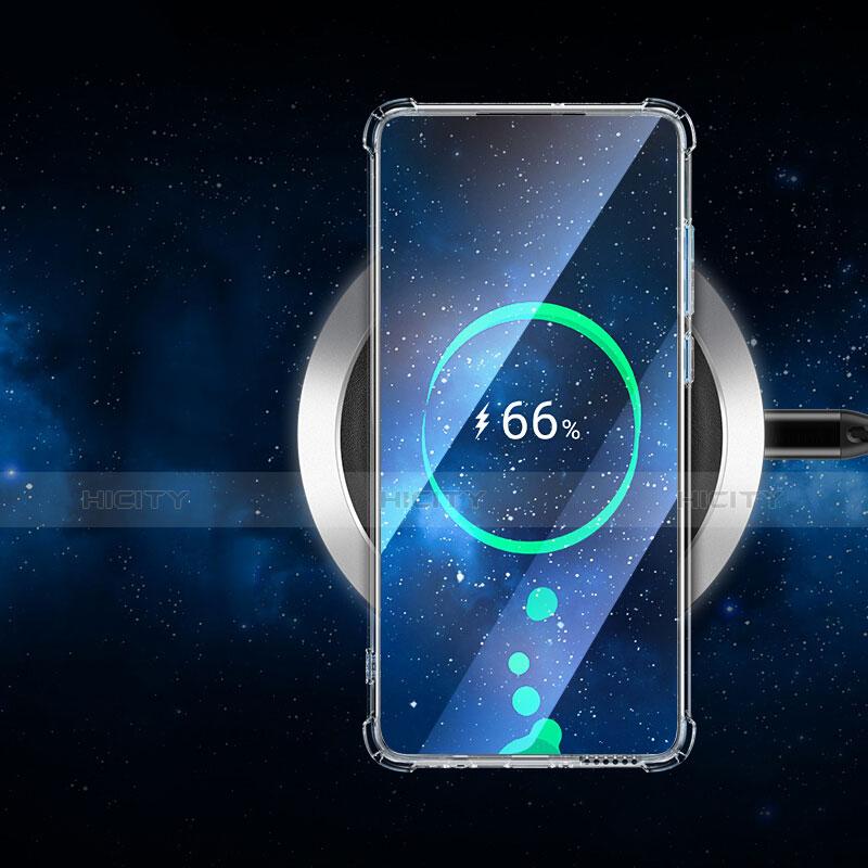 Huawei P30用極薄ソフトケース シリコンケース 耐衝撃 全面保護 クリア透明 T05 ファーウェイ クリア