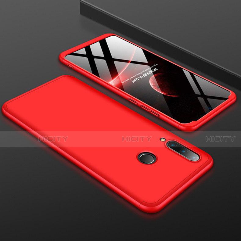 Huawei P30 Lite用ハードケース プラスチック 質感もマット 前面と背面 360度 フルカバー ファーウェイ レッド