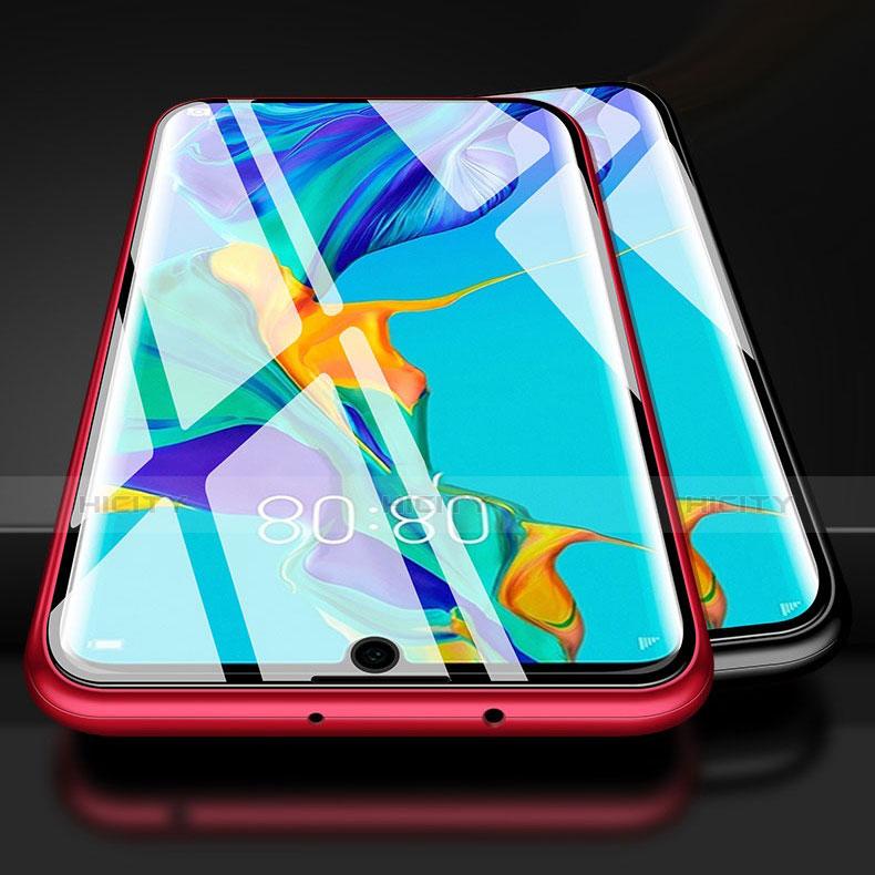 Huawei P30 Pro用ケース 高級感 手触り良い アルミメタル 製の金属製 バンパー 鏡面 カバー M02 ファーウェイ