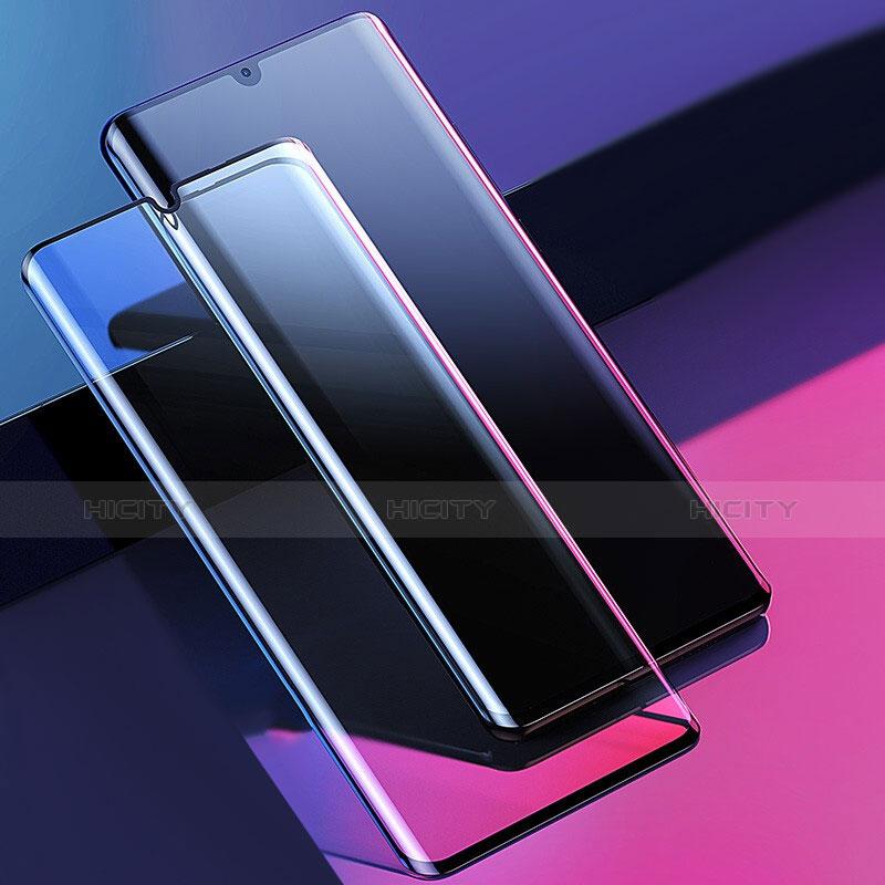 Huawei P30 Pro用強化ガラス フル液晶保護フィルム F07 ファーウェイ ブラック