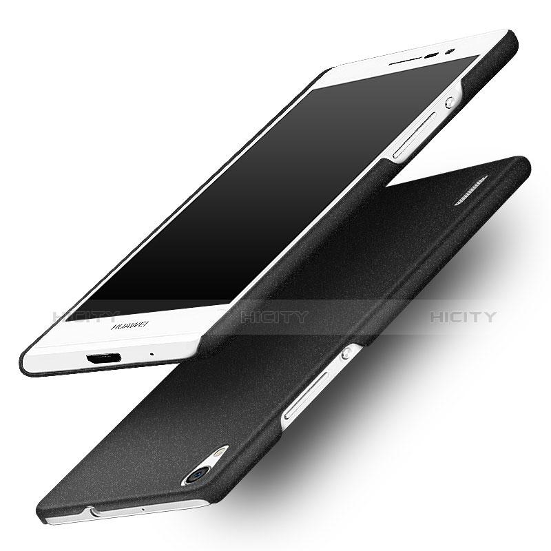 Huawei P7 Dual SIM用ハードケース カバー プラスチック ファーウェイ ブラック