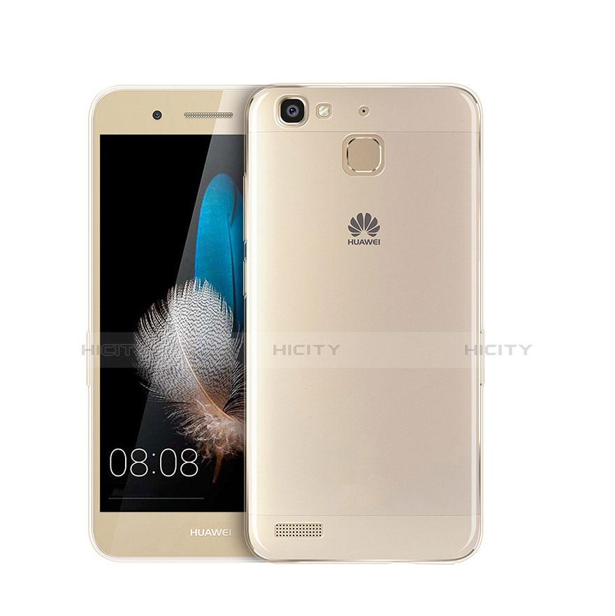 Huawei P8 Lite Smart用極薄ソフトケース シリコンケース 耐衝撃 全面保護 クリア ファーウェイ クリア