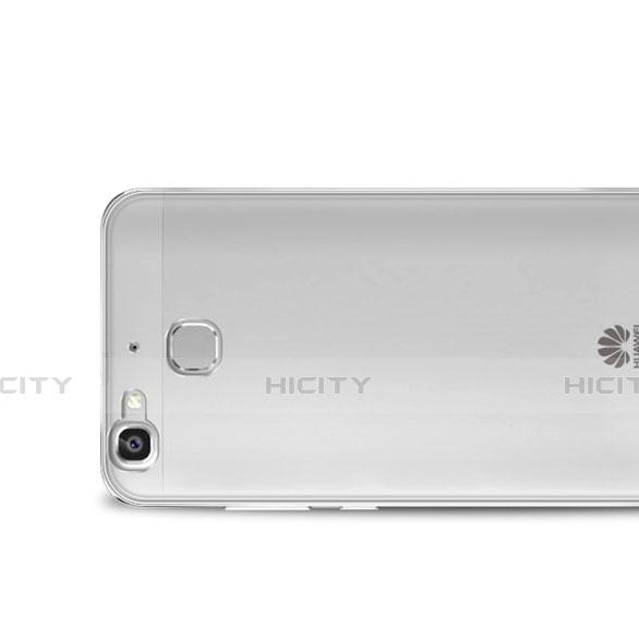 Huawei P8 Lite Smart用極薄ソフトケース シリコンケース 耐衝撃 全面保護 クリア透明 ファーウェイ クリア