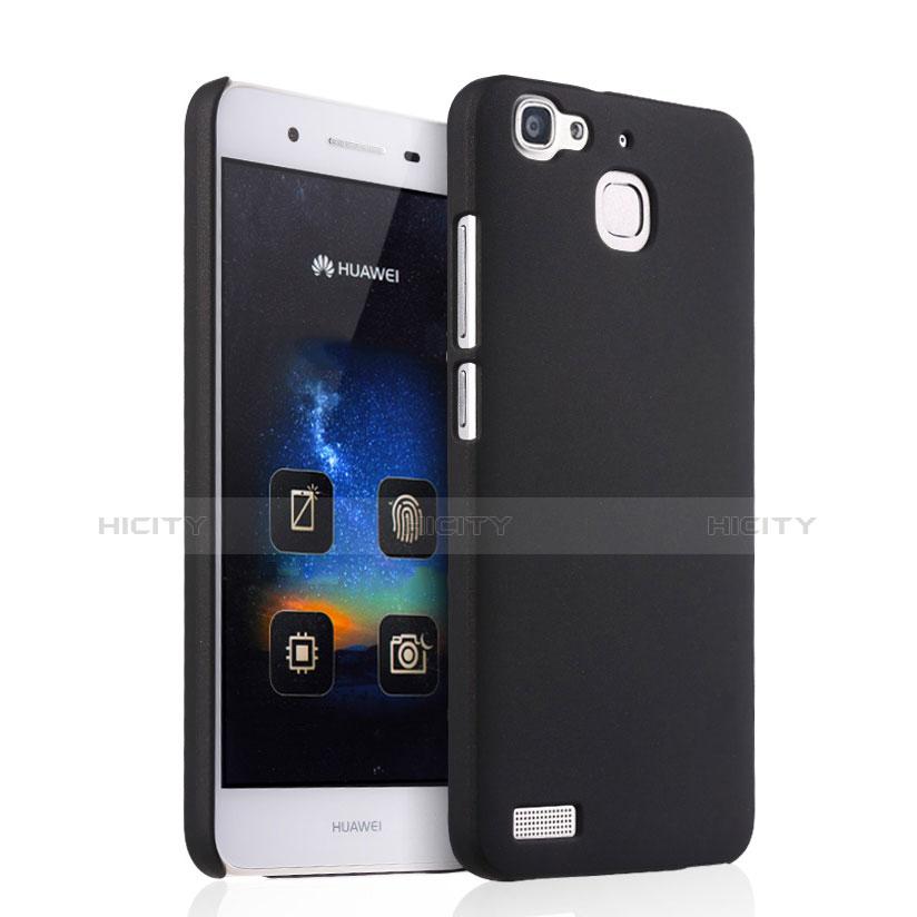Huawei P8 Lite Smart用ハードケース プラスチック 質感もマット ファーウェイ ブラック