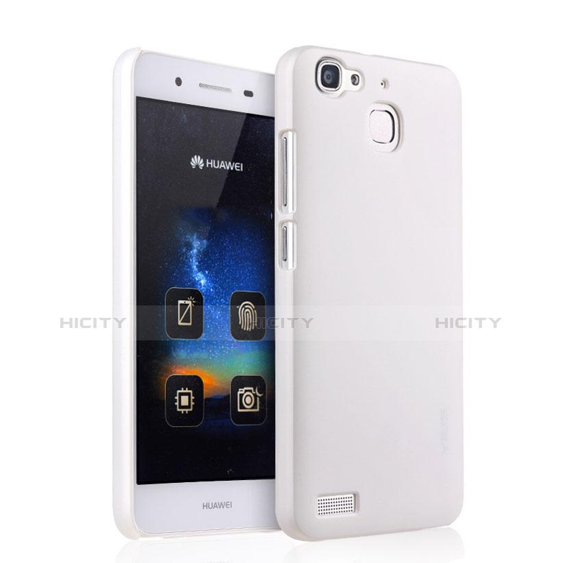Huawei P8 Lite Smart用ハードケース プラスチック 質感もマット ファーウェイ ホワイト