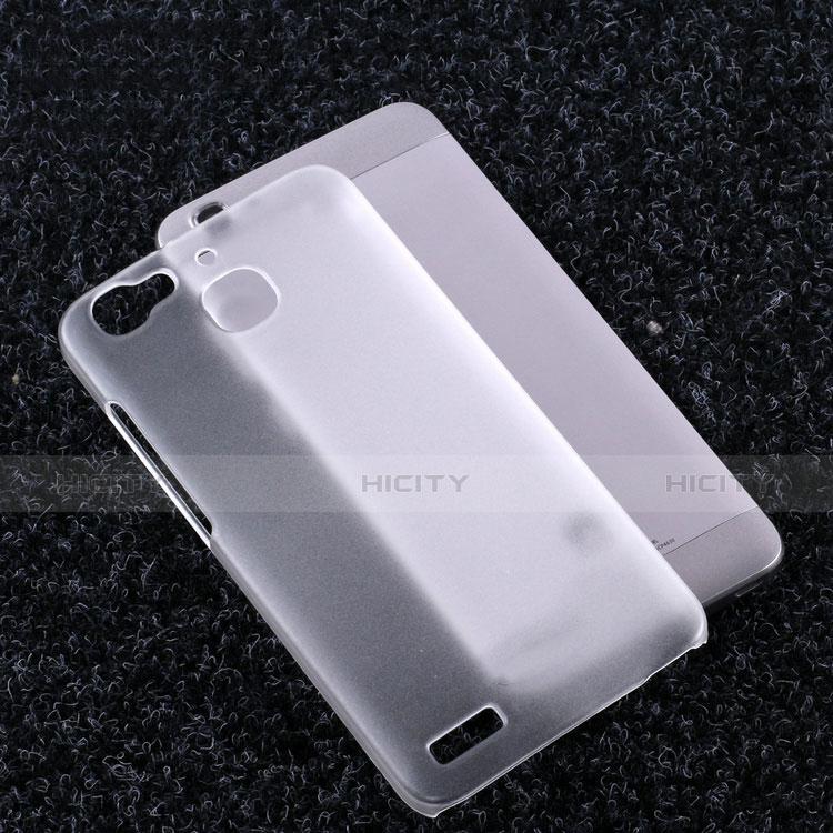 Huawei P8 Lite Smart用ハードケース クリスタル クリア透明 ファーウェイ クリア