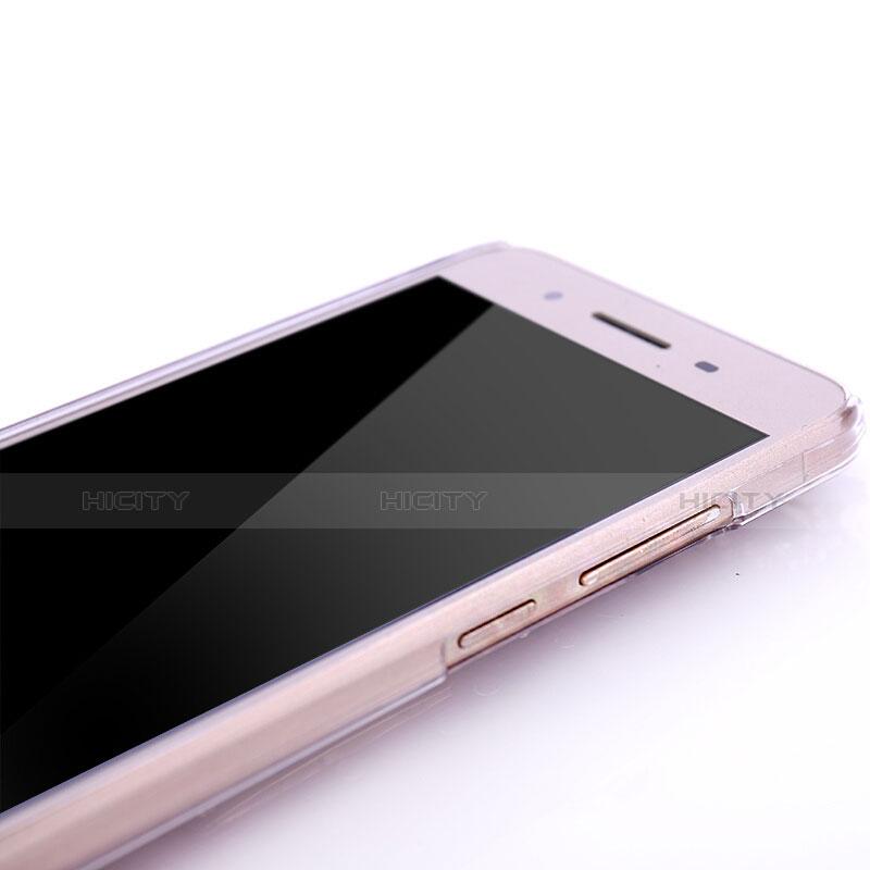 Huawei P8 Lite Smart用ケース ダイヤモンドスワロフスキー 孔雀 ファーウェイ レッド