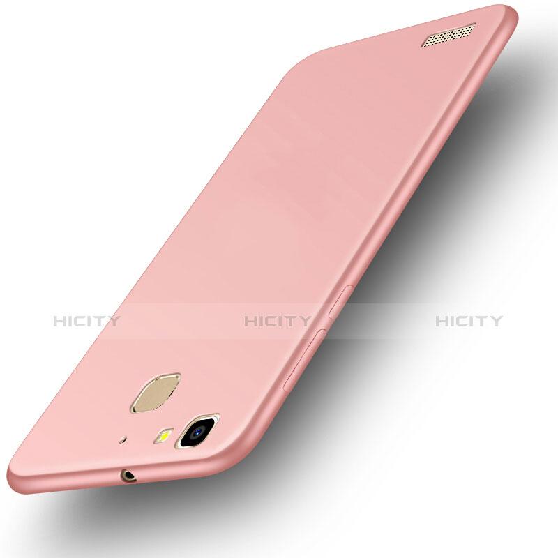 Huawei P8 Lite Smart用ハードケース プラスチック 質感もマット M01 ファーウェイ ローズゴールド
