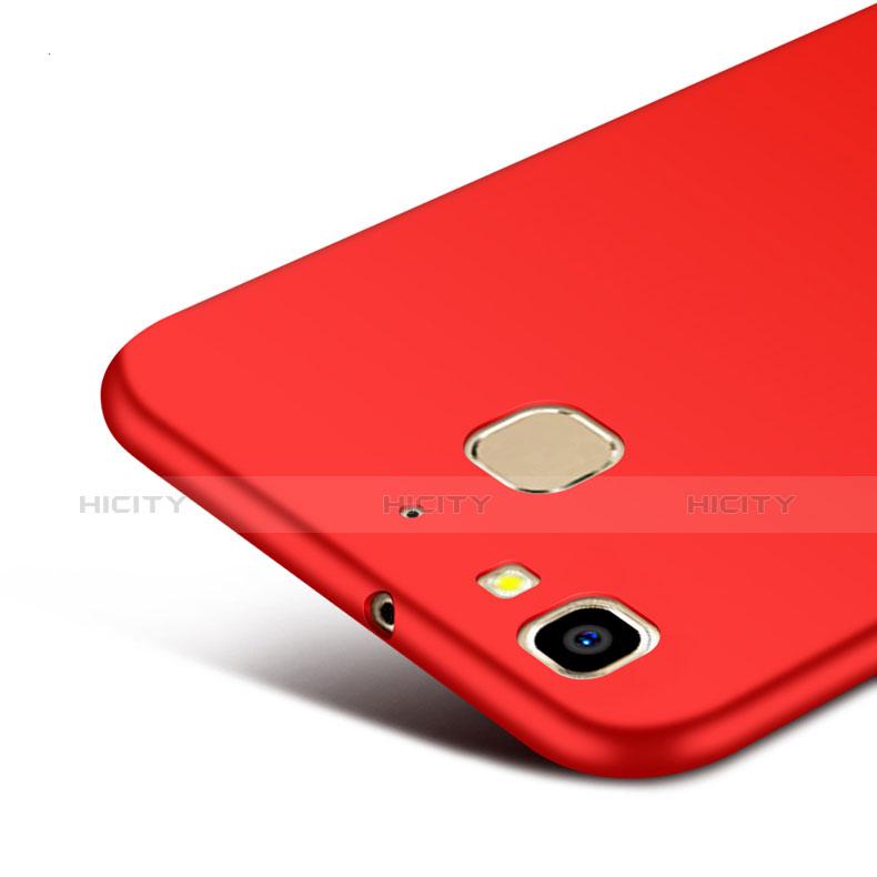 Huawei P8 Lite Smart用ハードケース プラスチック 質感もマット M01 ファーウェイ レッド