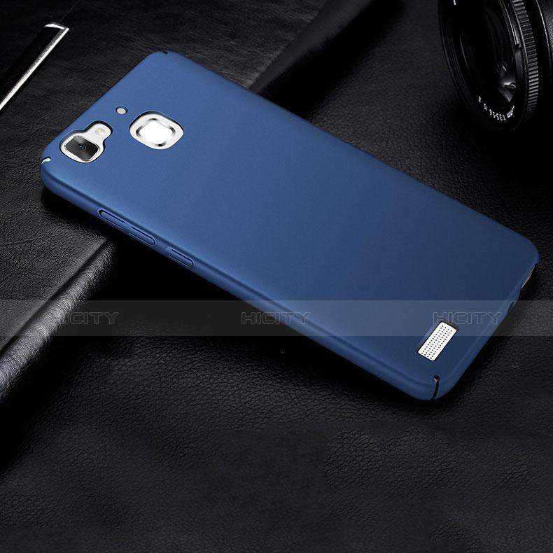 Huawei P8 Lite Smart用ハードケース プラスチック 質感もマット M01 ファーウェイ ネイビー