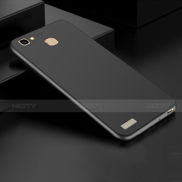 Huawei P8 Lite Smart用ハードケース プラスチック 質感もマット M01 ファーウェイ ブラック