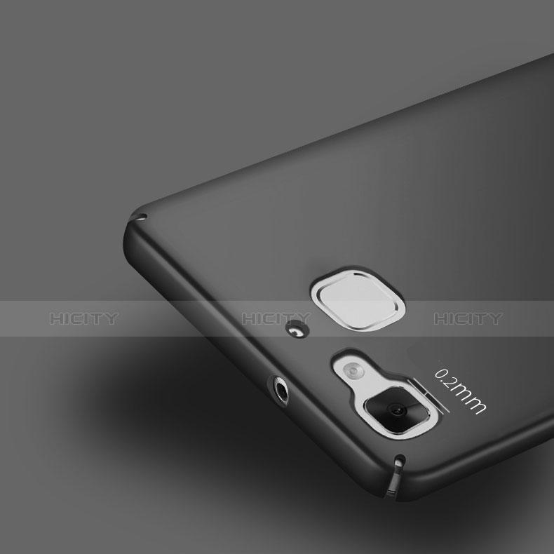 Huawei P8 Lite Smart用ハードケース プラスチック 質感もマット M02 ファーウェイ ブラック