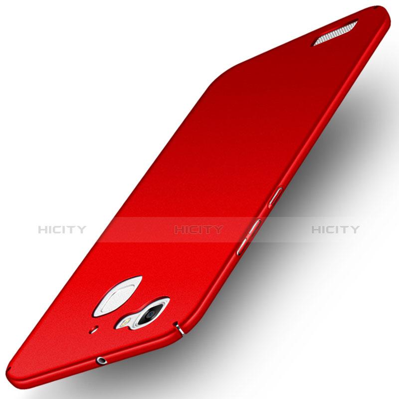 Huawei P8 Lite Smart用ハードケース プラスチック 質感もマット M03 ファーウェイ レッド