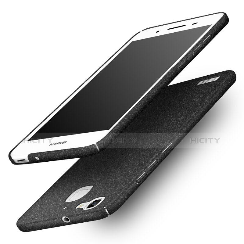 Huawei P8 Lite Smart用ハードケース カバー プラスチック ファーウェイ ブラック