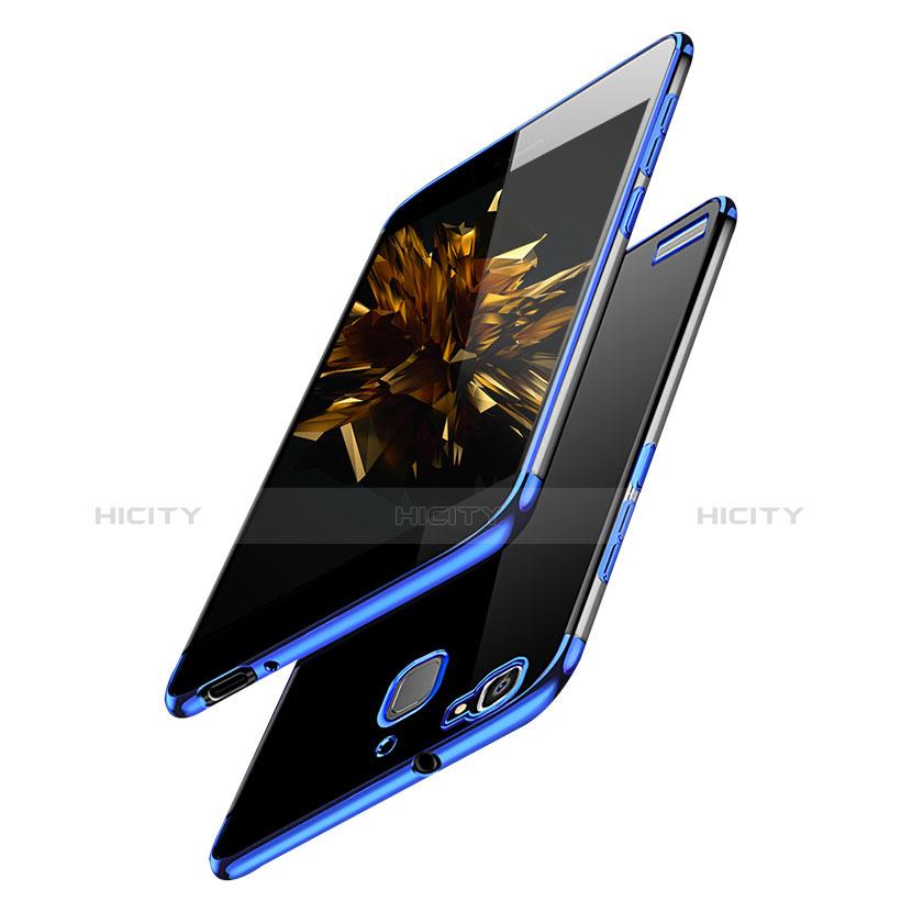 Huawei P8 Lite Smart用極薄ソフトケース シリコンケース 耐衝撃 全面保護 クリア透明 H01 ファーウェイ