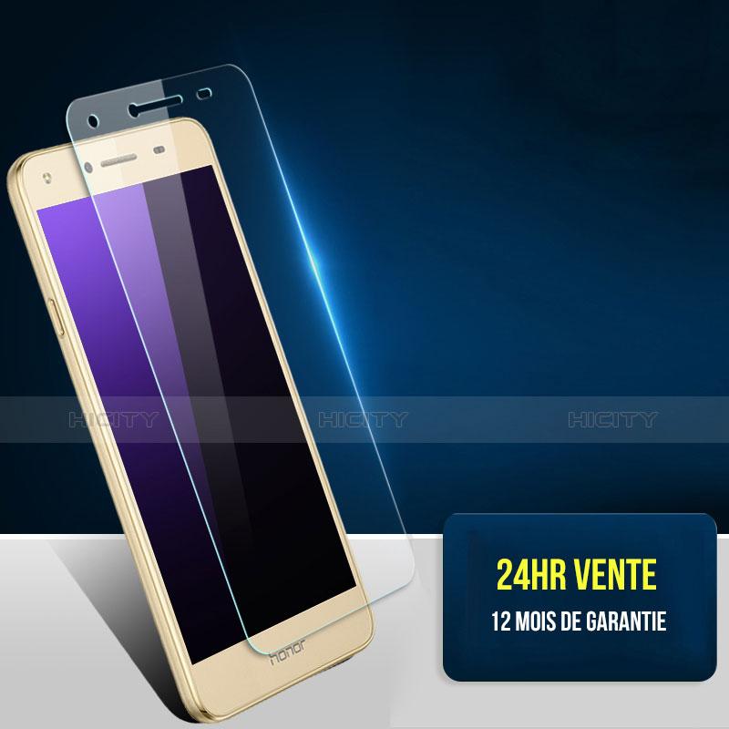 Huawei Y5 II Y5 2用強化ガラス 液晶保護フィルム T03 ファーウェイ クリア