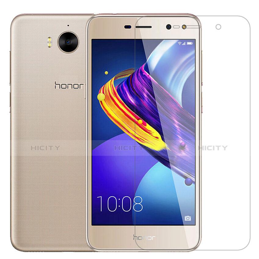 Huawei Y6 (2017)用強化ガラス 液晶保護フィルム T02 ファーウェイ クリア