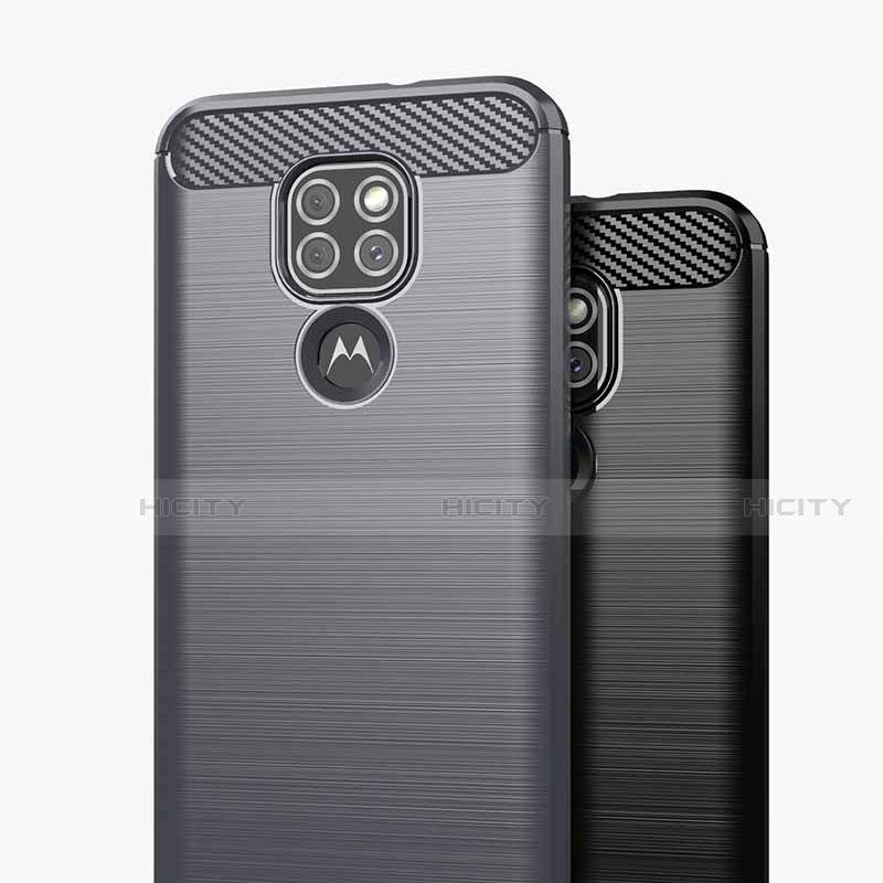 Motorola Moto G9用シリコンケース ソフトタッチラバー ライン カバー S01 モトローラ