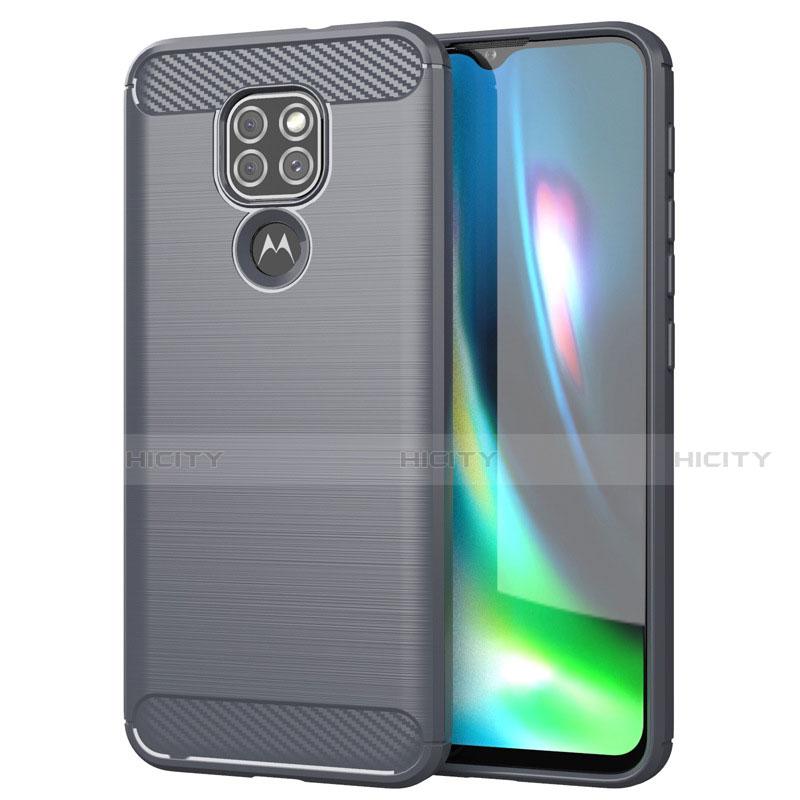 Motorola Moto G9 Play用シリコンケース ソフトタッチラバー ライン カバー S01 モトローラ