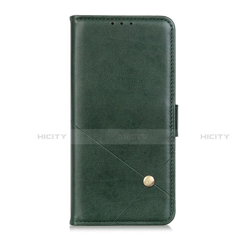 Motorola Moto G9 Plus用手帳型 レザーケース スタンド カバー L02 モトローラ グリーン