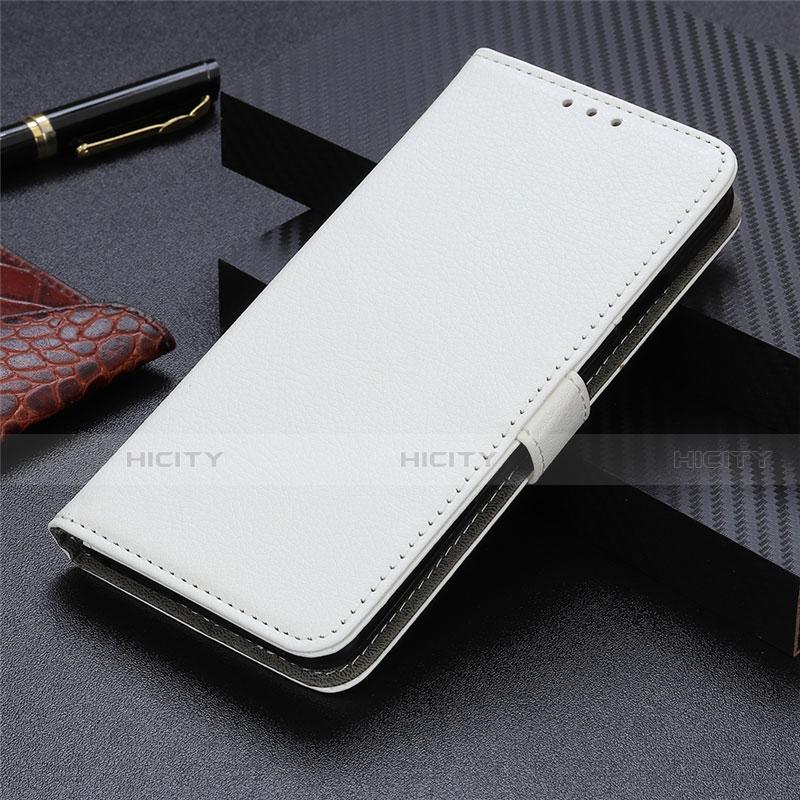 Motorola Moto G9 Plus用手帳型 レザーケース スタンド カバー L03 モトローラ ホワイト