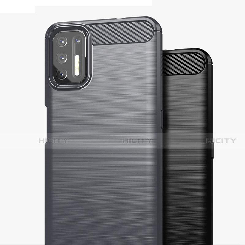 Motorola Moto G9 Plus用シリコンケース ソフトタッチラバー ライン カバー S01 モトローラ