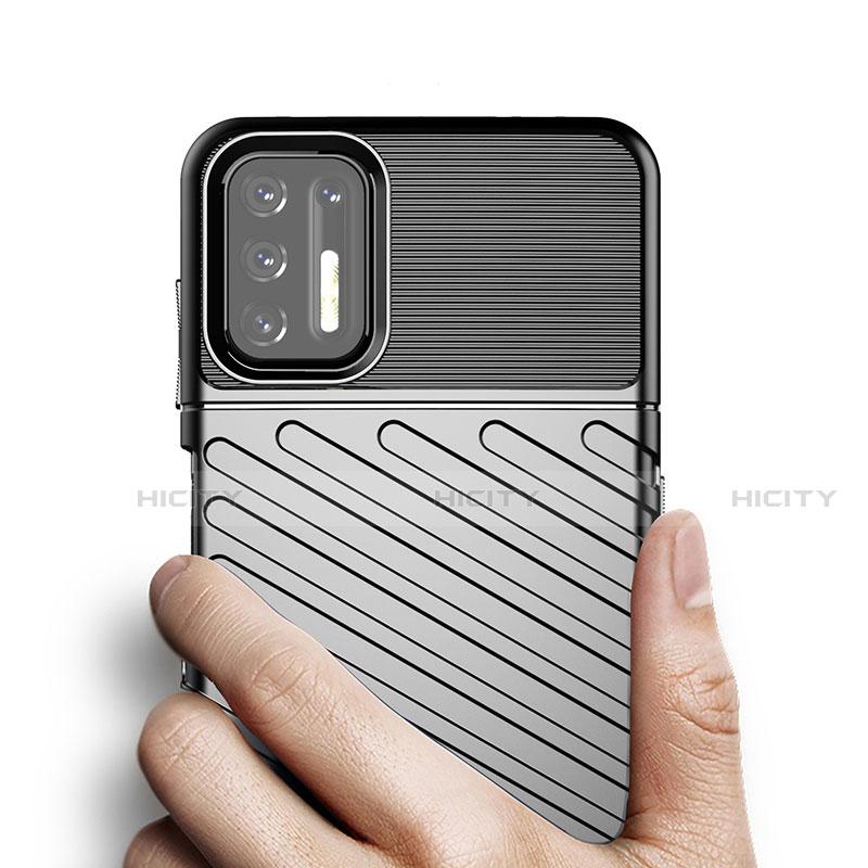 Motorola Moto G9 Plus用シリコンケース ソフトタッチラバー ライン カバー モトローラ