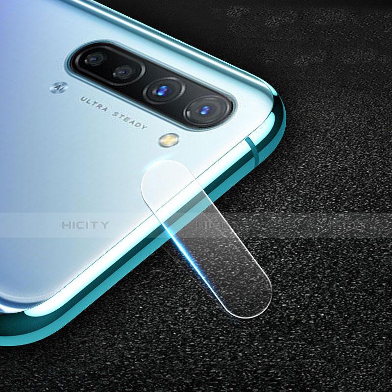 Oppo Reno3 A用強化ガラス カメラプロテクター カメラレンズ 保護ガラスフイルム C01 Oppo クリア