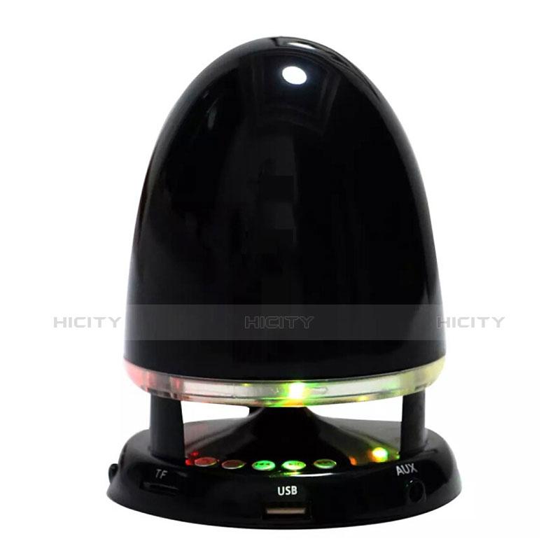 Bluetoothミニスピーカー ポータブルで高音質 ポータブルスピーカー S23 ブラック