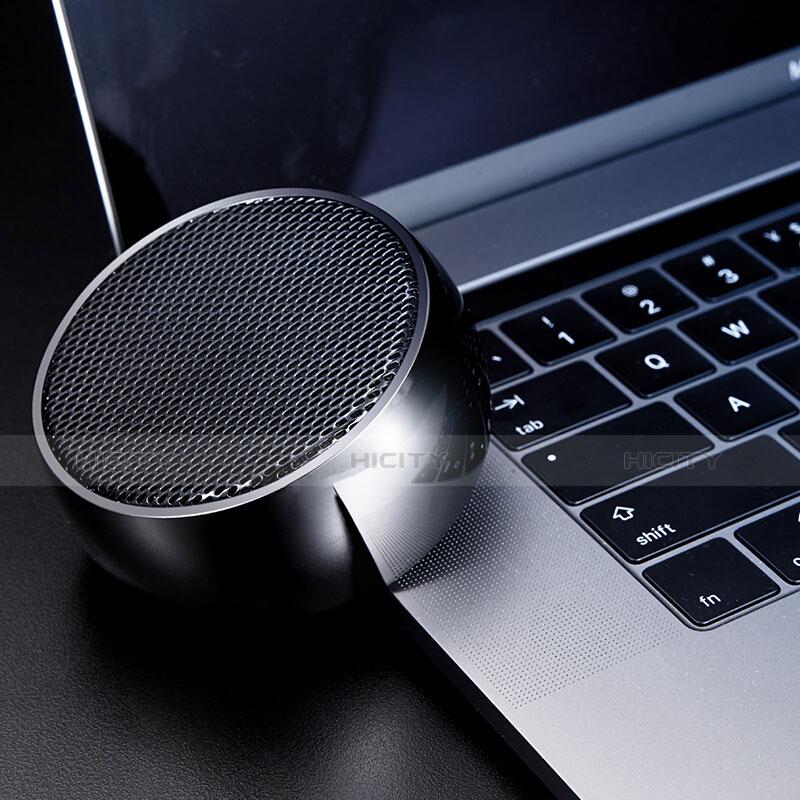 Bluetoothミニスピーカー ポータブルで高音質 ポータブルスピーカー S25 ブラック
