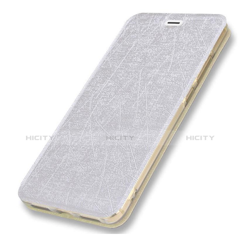 Samsung Galaxy A5 (2018) A530F用手帳型 レザーケース スタンド サムスン ホワイト