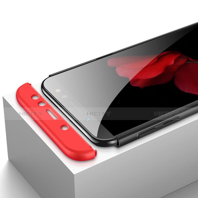 Samsung Galaxy A6 (2018)用ハードケース プラスチック 質感もマット 前面と背面 360度 フルカバー サムスン