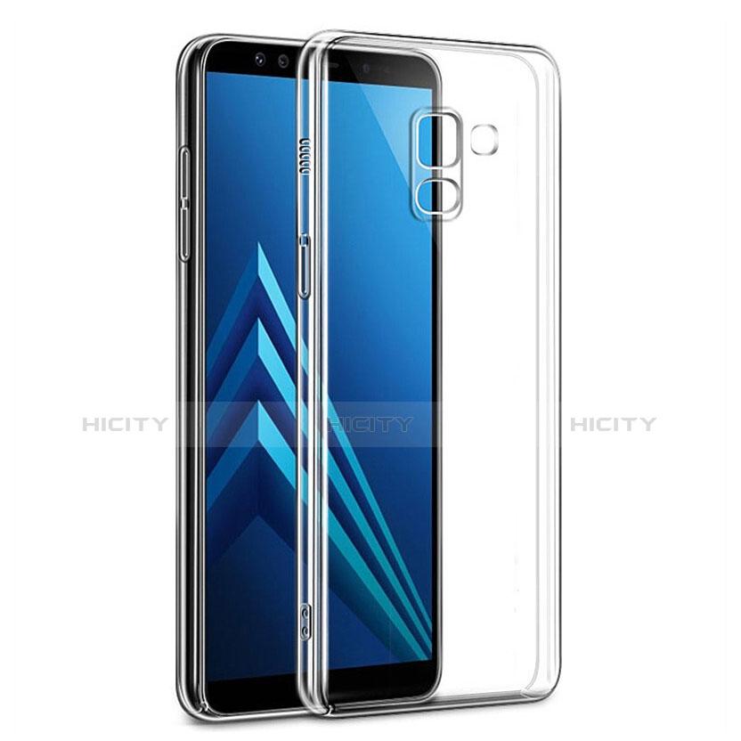 Samsung Galaxy A6 (2018) Dual SIM用ハードケース クリスタル クリア透明 サムスン クリア