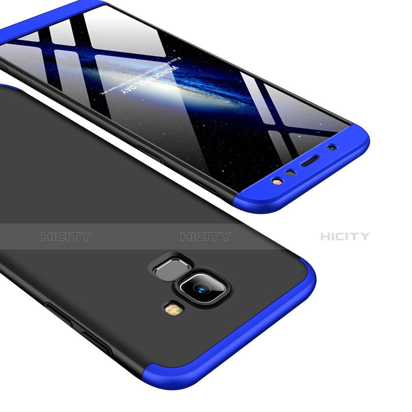 Samsung Galaxy A6 (2018) Dual SIM用ハードケース プラスチック 質感もマット 前面と背面 360度 フルカバー サムスン