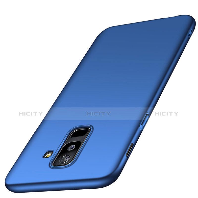 Samsung Galaxy A6 Plus用ハードケース プラスチック 質感もマット M03 サムスン ネイビー