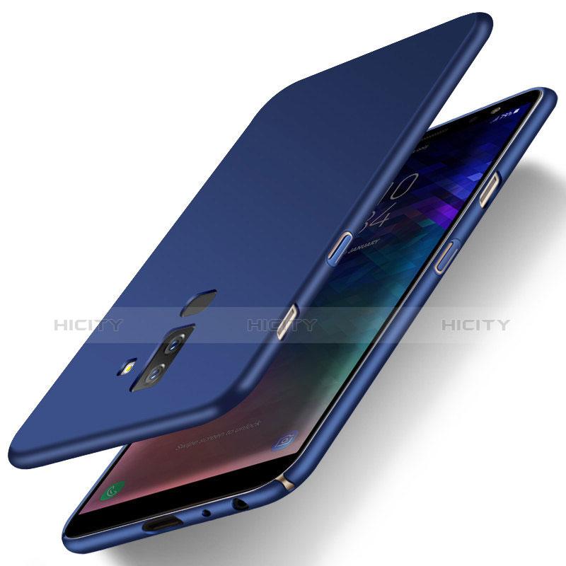 Samsung Galaxy A6 Plus用ハードケース プラスチック 質感もマット M04 サムスン ネイビー