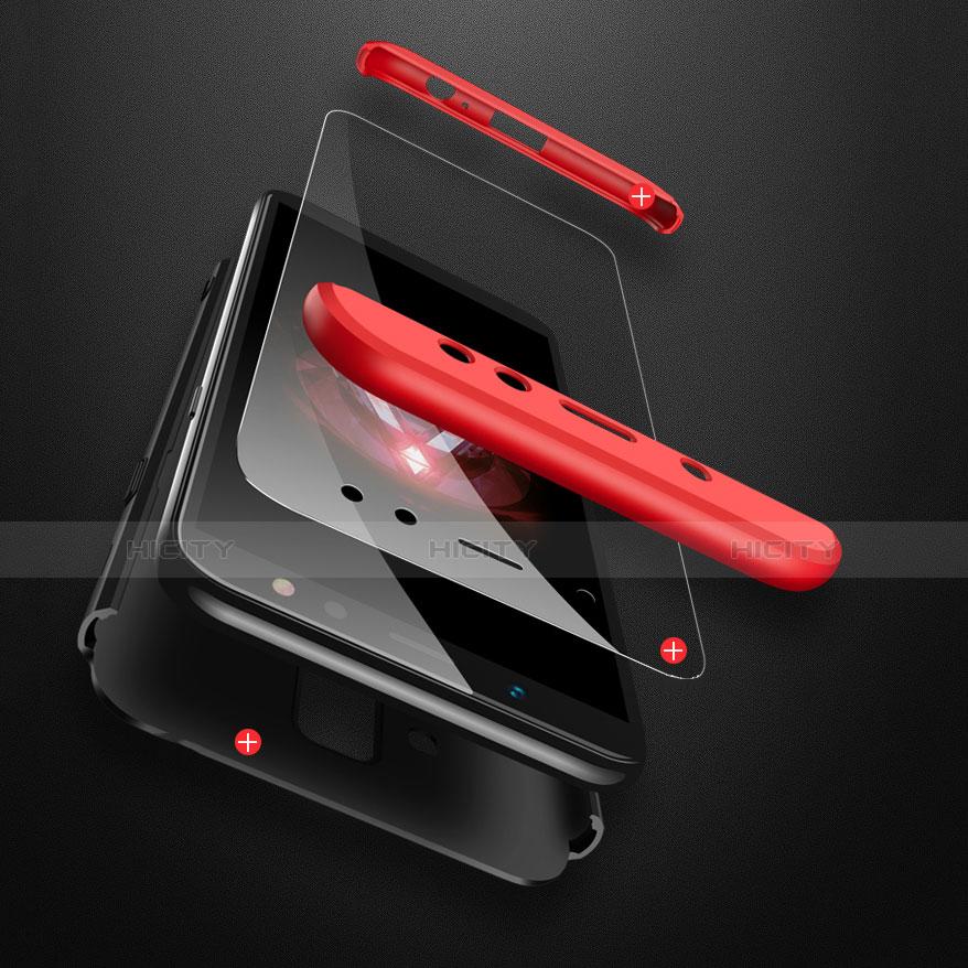 Samsung Galaxy A6 Plus用ハードケース プラスチック 質感もマット 前面と背面 360度 フルカバー サムスン