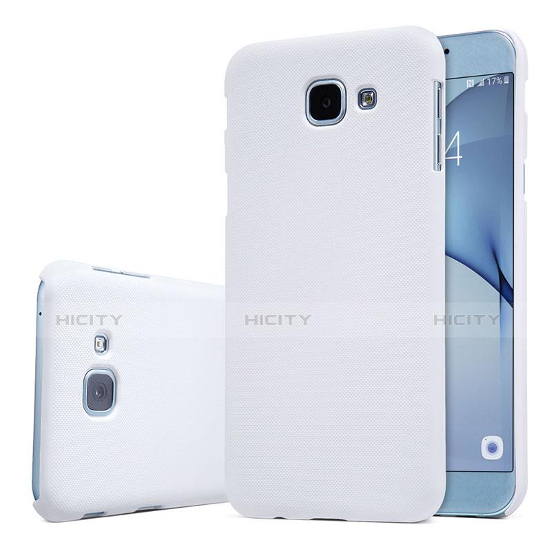Samsung Galaxy A8 (2016) A8100 A810F用ハードケース プラスチック 質感もマット M01 サムスン ホワイト